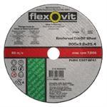 Flexovit 203x3.2x25.4 Masonry Cut Off Wheel Fh64 4020325