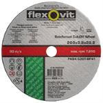 Flexovit 203x3.2x22.2 Cut Off Wheel Masonry