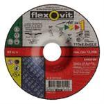 Flexovit 115x2.2x22 All In One Grinding Disc 7211522