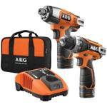 AEG 12V Combo Impact/Driver Kit 2pc