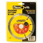 Flexovit Segmented Diamond Blade 125mm