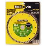 Flexovit Turbo Diamond Blade 180mm