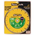 Flexovit 230x25.4/22mm Diamond Blade Standard Concrete & Block