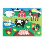 Melissa and Doug: Farm Peg Puzzle