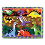 Melissa and Doug: Dinosaurs Chunky Puzzle