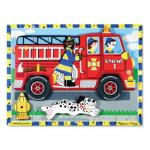 Melissa and Doug: Fire Truck Chunky Puzzle