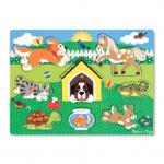 Melissa and Doug: Friendly Pets Peg Puzzle