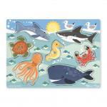 Melissa and Doug: Sea Creatures Peg Puzzle