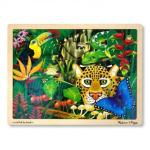 Melissa and Doug: Rainforest Jigsaw 48pc