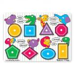 Melissa and Doug: Shapes Peg Puzzle