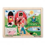 Melissa and Doug: Farm Fun Jigsaw Puzzle