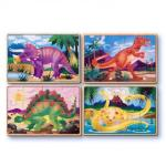 Melissa and Doug: Dinosaurs Puzzles in a Box