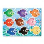 Melissa and Doug: Colourful Fish Peg Puzzle