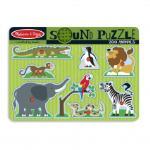 Melissa and Doug: Zoo Animals Sound Puzzle