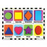 Melissa and Doug: Shapes Chunky Puzzle