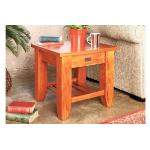 Ferngrove Lamp Table with Rack by Coastwood Furniture FGLTR-LR