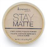 Rimmel London Stay Matte Pressed Powder 14g (Transparent 001)