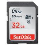 SanDisk Ultra UHS-I SDXC Class 10 80MB/s 128GB