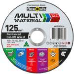 Flexovit Multi Material Cut Off Wheel 125x1.0x22.2mm
