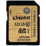 Kingston Ultimate UHS-I SDHC Class 10 90MB/s 32GB