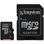 Kingston UHS-I MicroSDXC Class 10 64GB